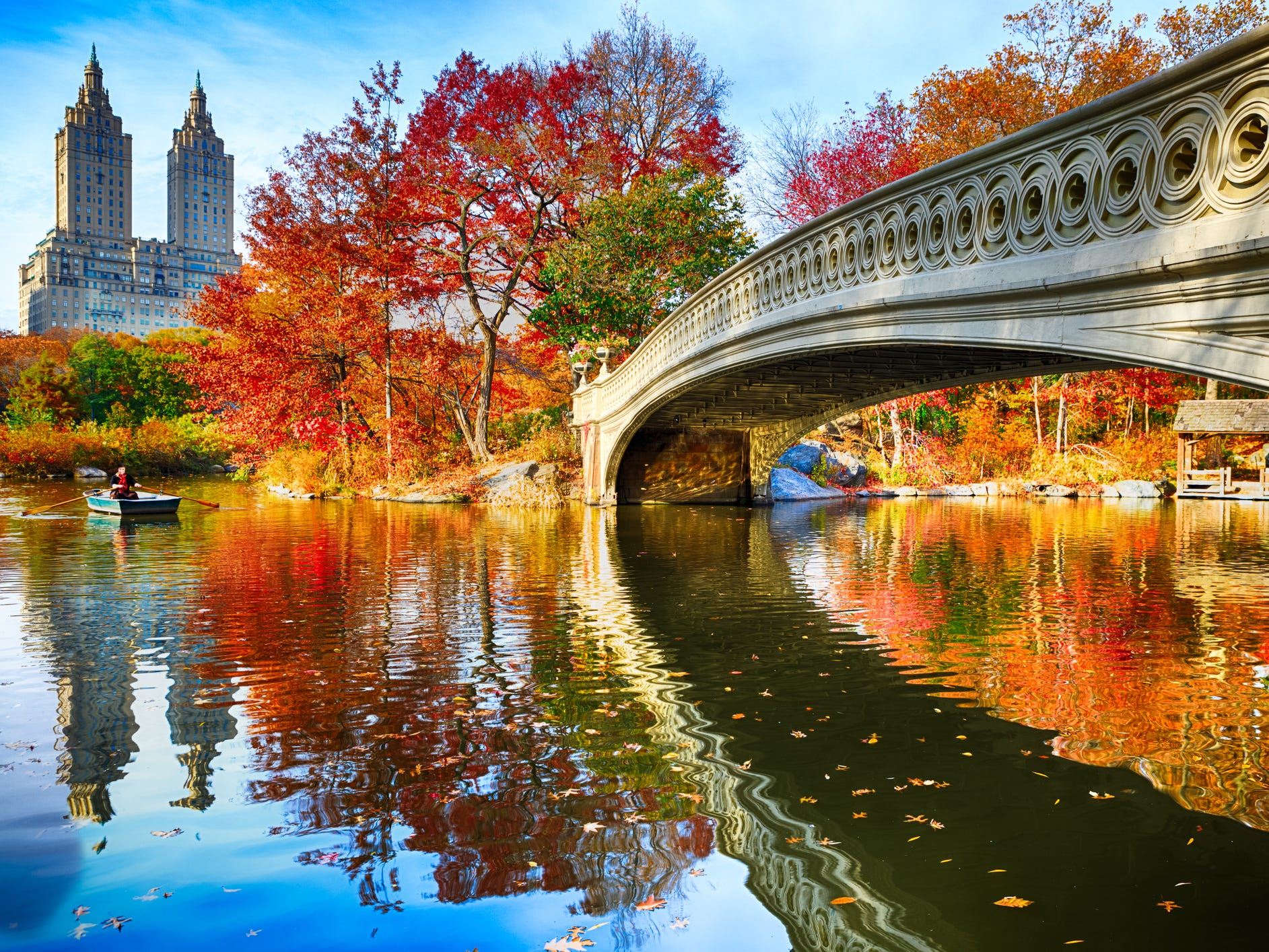 No. 2: Central Park in New York City.
