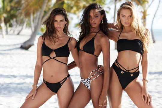 Victoria's Secret Swim is back, but the bathing suits are available only online