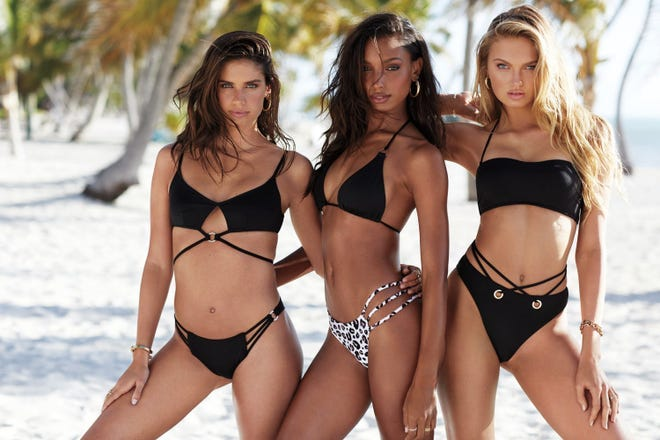 Swimwear is available on Victoria's Secret's website.
