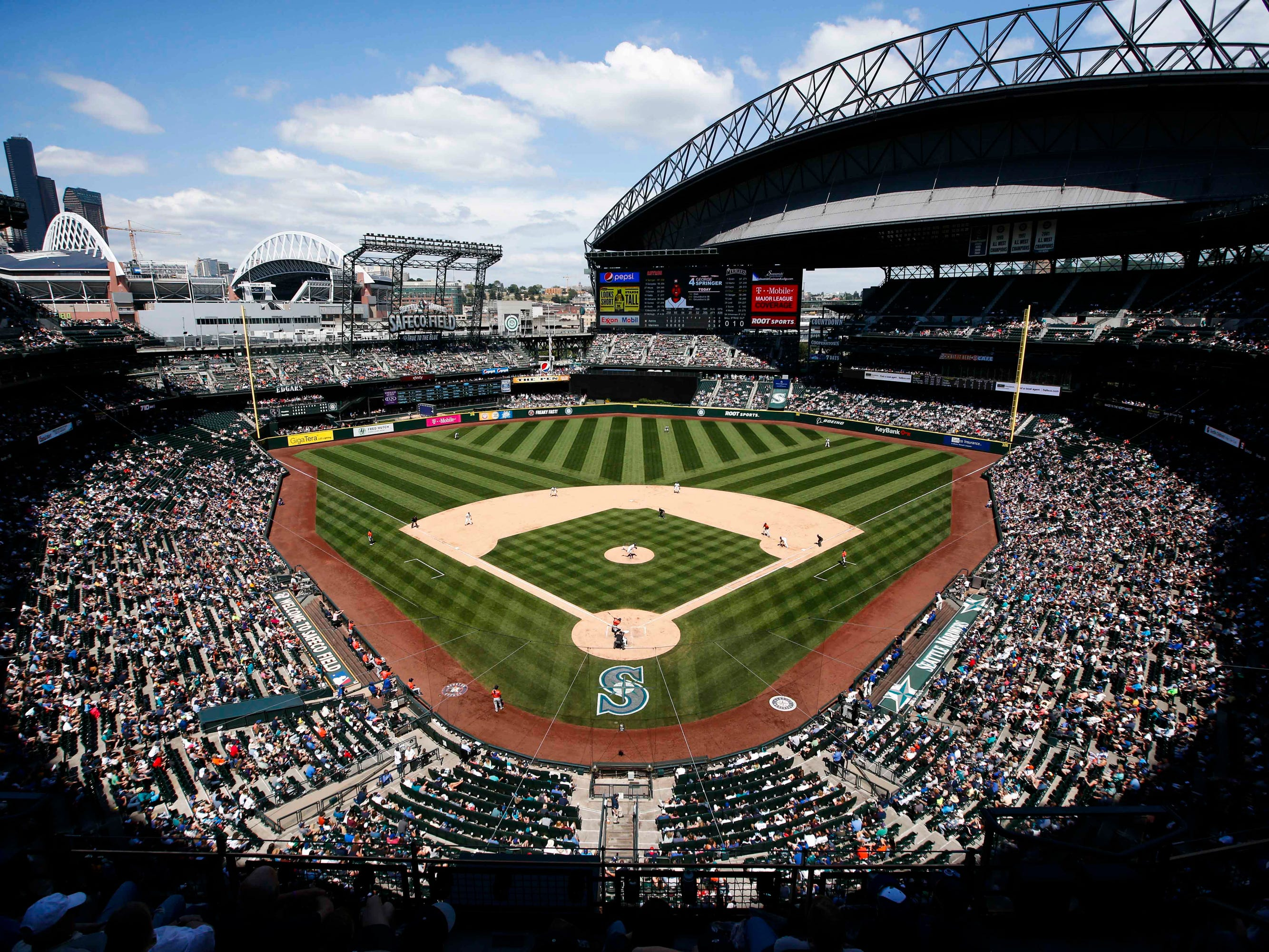 No. 32: T-Mobile Park in Seattle.