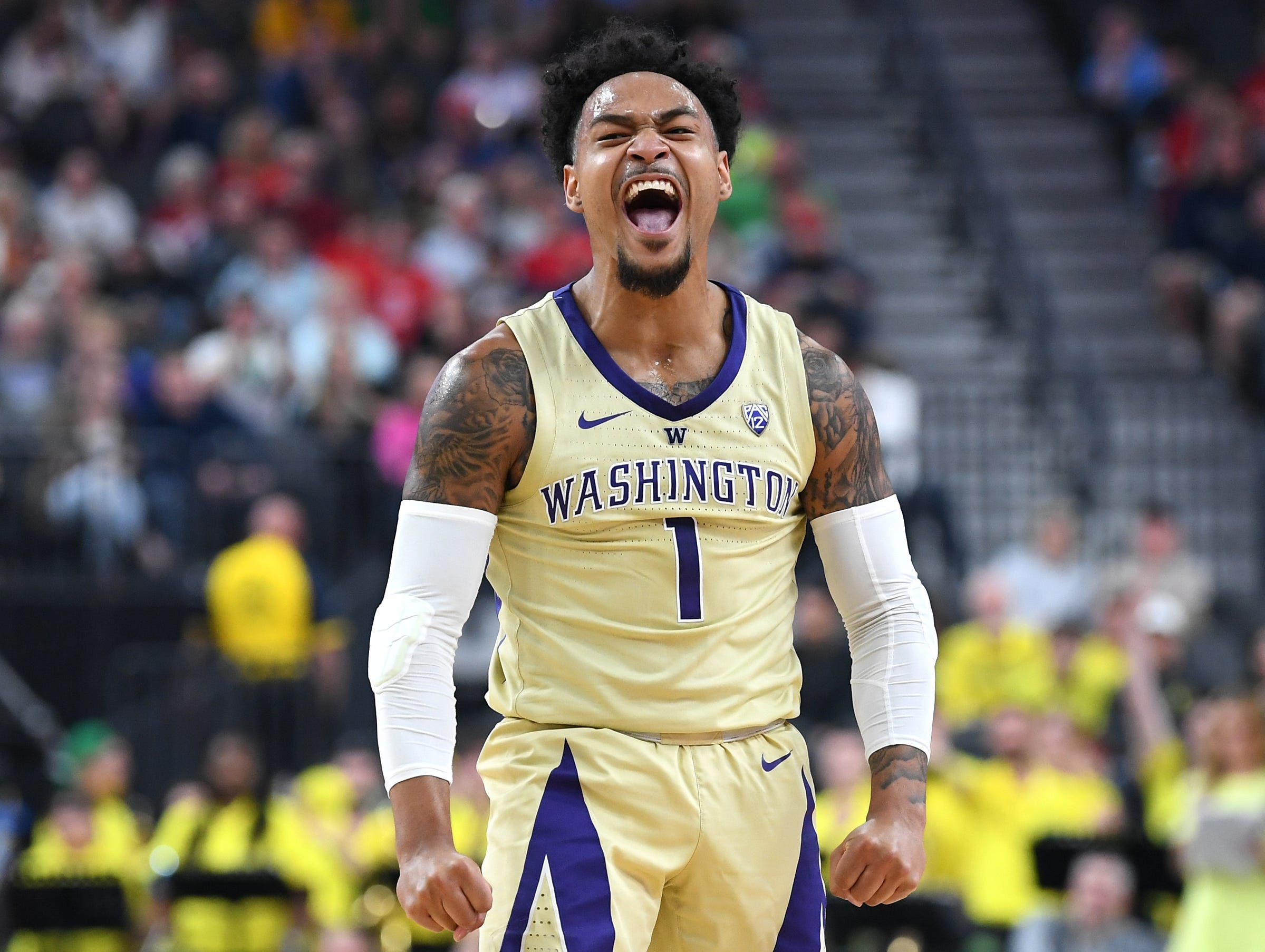 Washington (26-8), No. 9 seed in Midwest, at-large bid out of the Pac-12 Conference