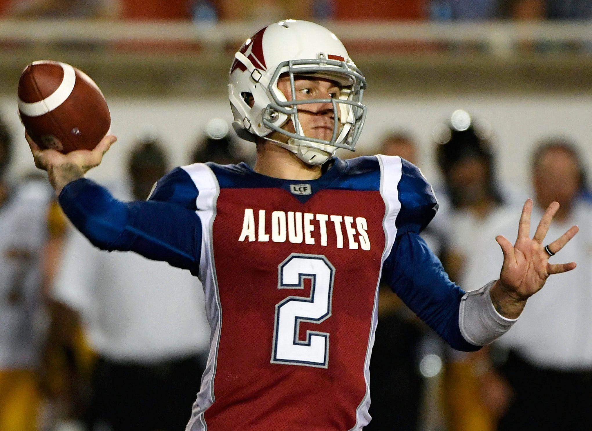 Johnny Manziel is running out of football leagues in which he can play.
