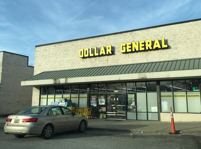 A Dollar General store in Anderson, South Carolina.