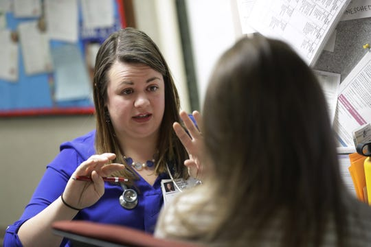 Dr. Martha Grace Courtright is planning to stay working in Wisconsin after finishing her residency program.