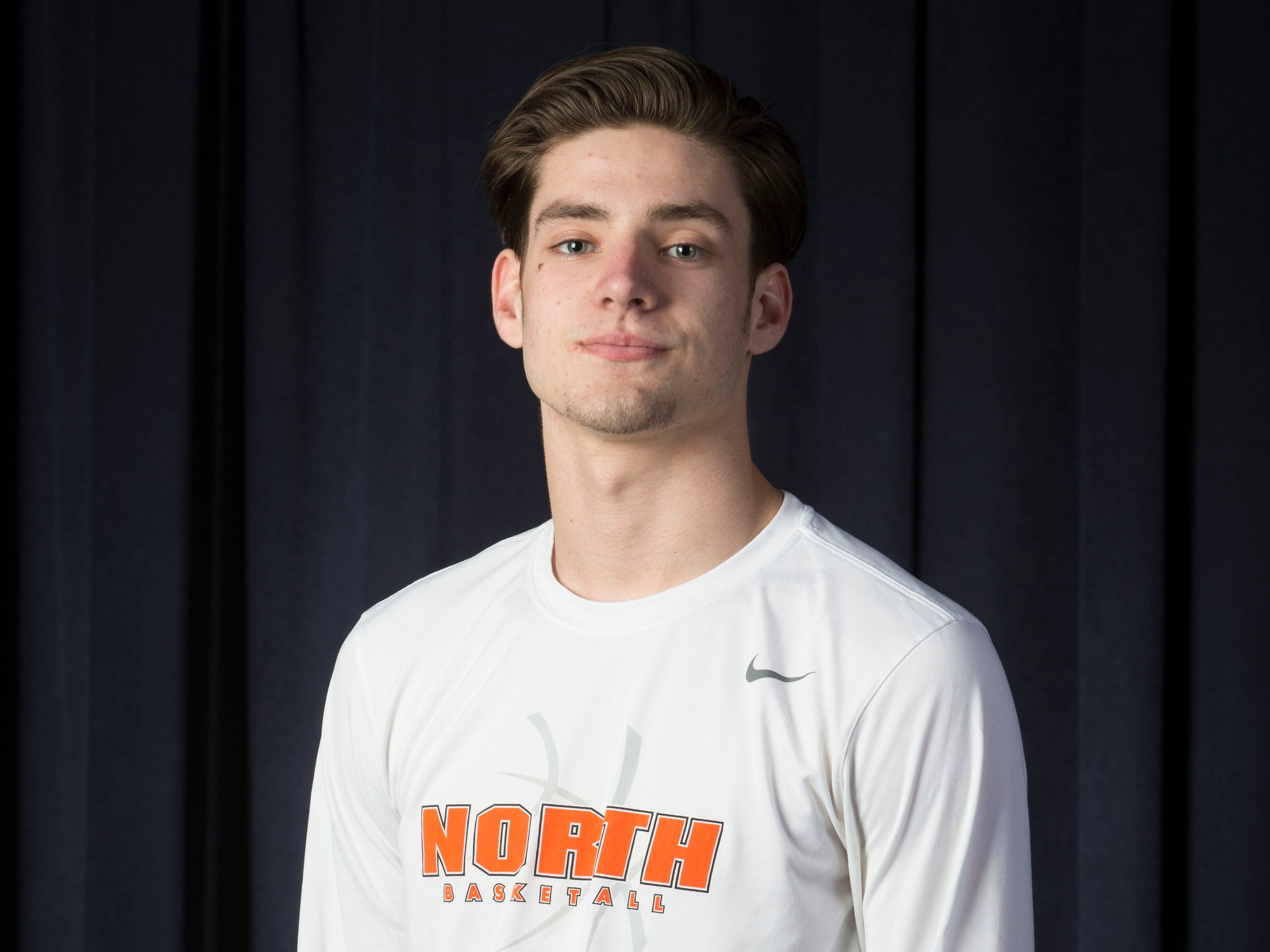 All-Shore Boys Basketball team.Rob Higgins of Middletown North.