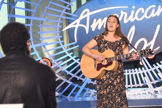 """Sydney Sherwood auditions for ABC's """"American Idol."""""""