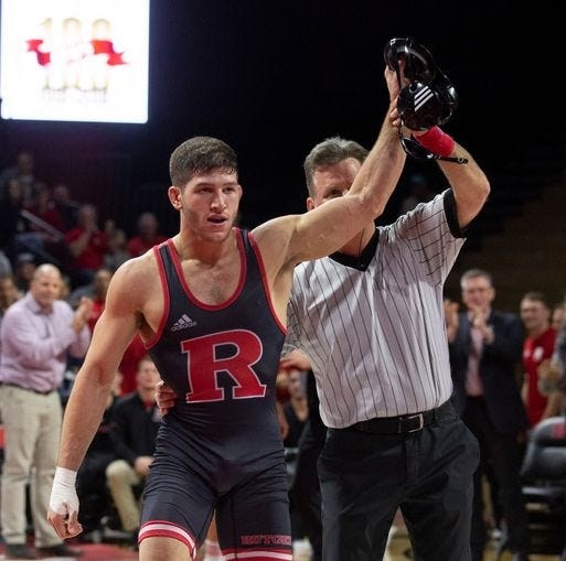 Anthony Ashnault finishes his Rutgers wrestling career with national title