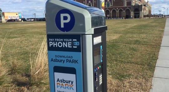 Asbury Park parking meter