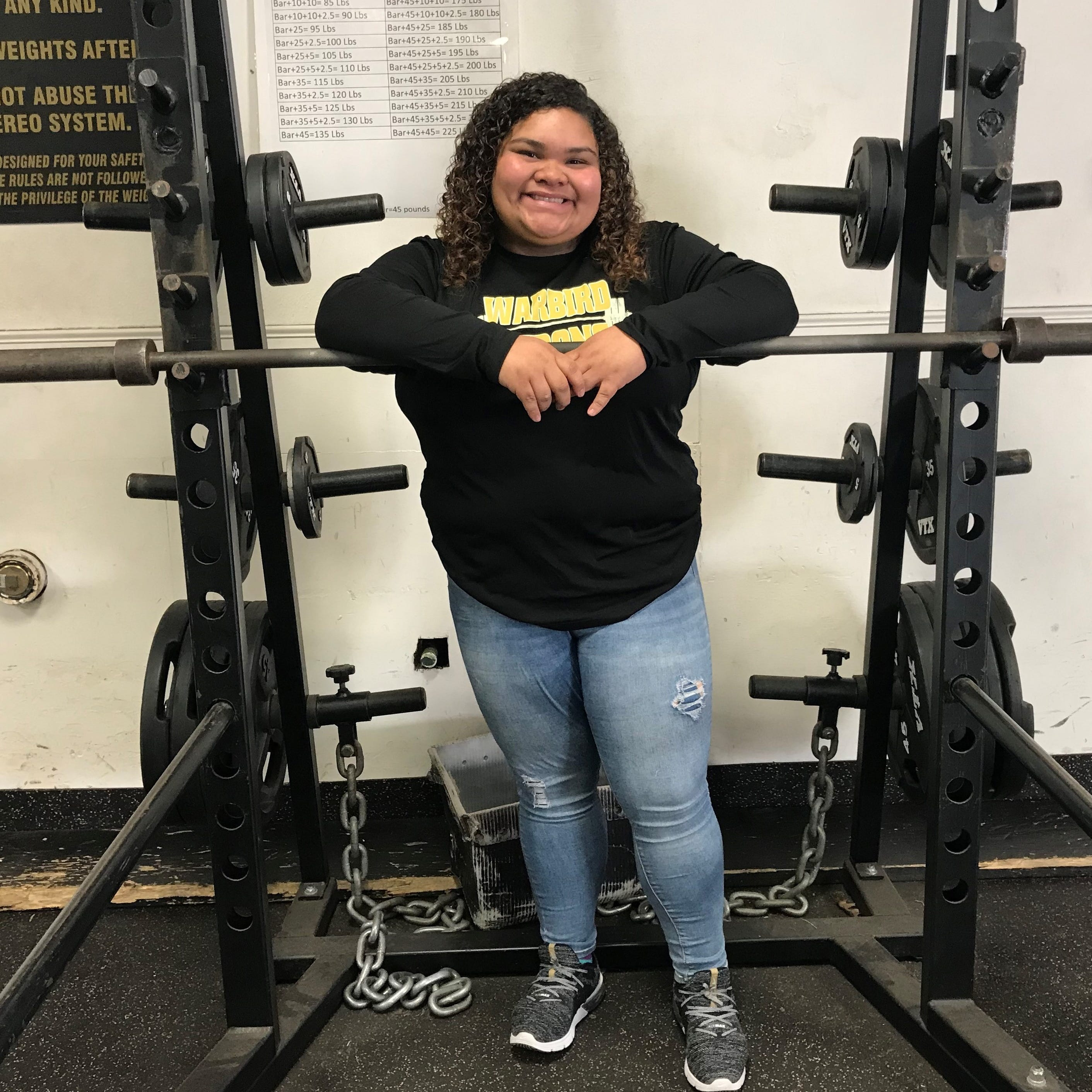 After doctors said she'd never lift again, Abilene High's Renteria places 2nd at state meet
