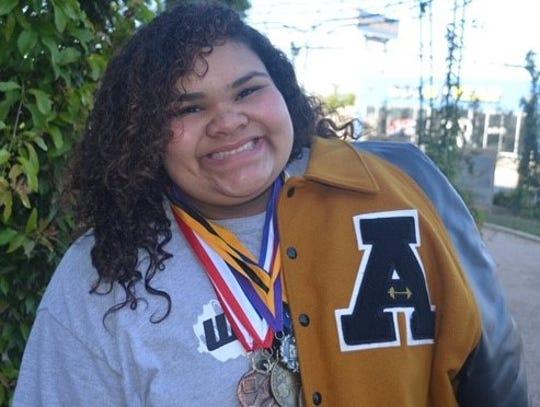 Abilene High junior Zenaida Renteria