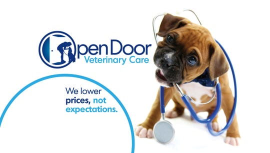 Open Door Veterinary Care of West Asheville offers low-cost vet services to increase accessibility.
