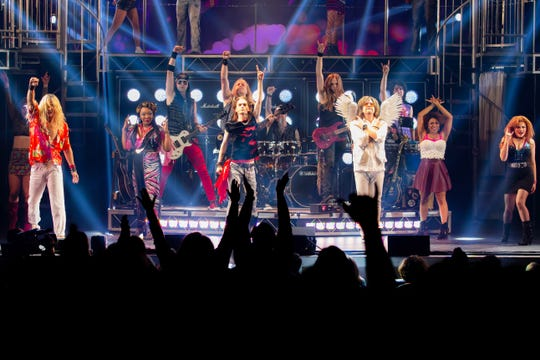 """""""Rock of Ages"""" will rock the Broome County Forum with the music of the '80s on April 2."""