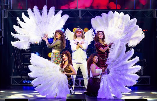"The tenth anniversary tour of ""Rock of Ages"" will stop at the Broome County Forum on April 2."