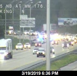 Traffic alert: FHP investigating crash on I-95