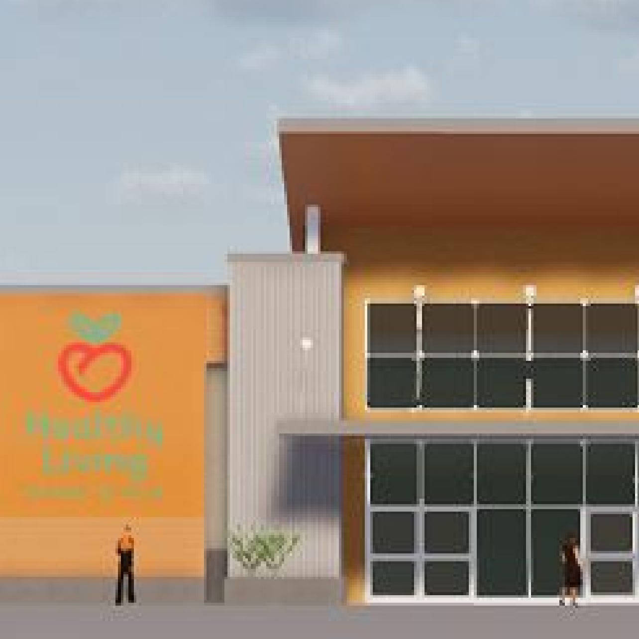 Healthy Living Market & Cafe reveals fresh renderings for new Williston store