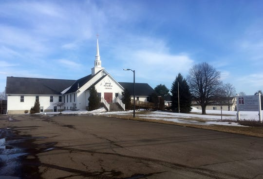 Christ Memorial Church in Williston, as shown on Thursday, March 14, 2019.