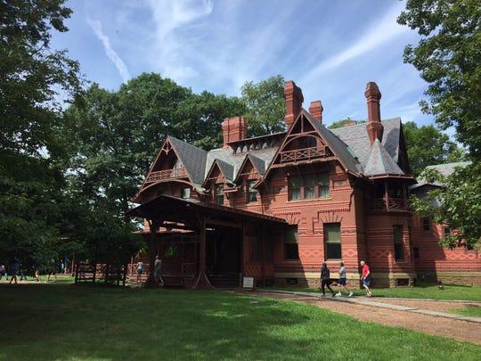 The Mark Twain House in Hartford, Connecticut.