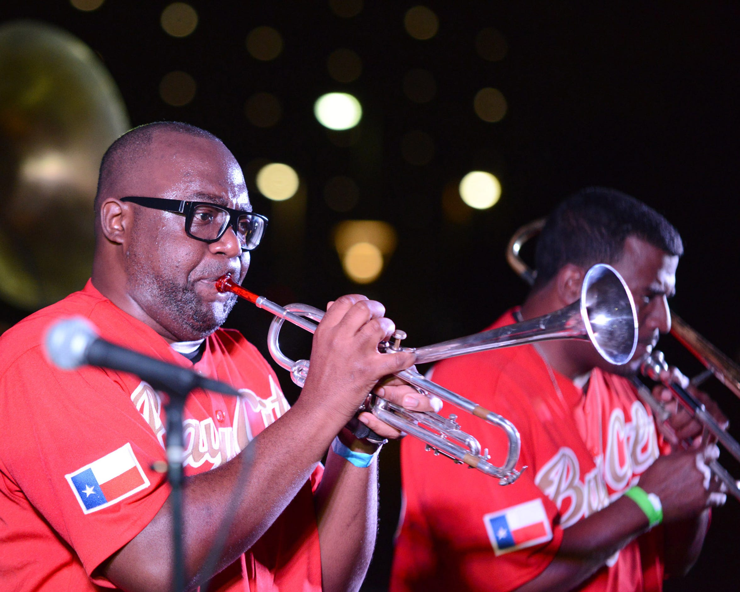 Corpus Christi Live! presents Bayou City Brass Band at Richardson Performance Hall Friday.
