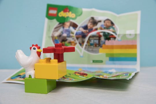 Dr. Sever and Dr. Luckeydoo will start providing prescriptions for play for patients 18- and 24-months that will include free LEGO sets during their wellness checks at Chillicothe Pediatrics.