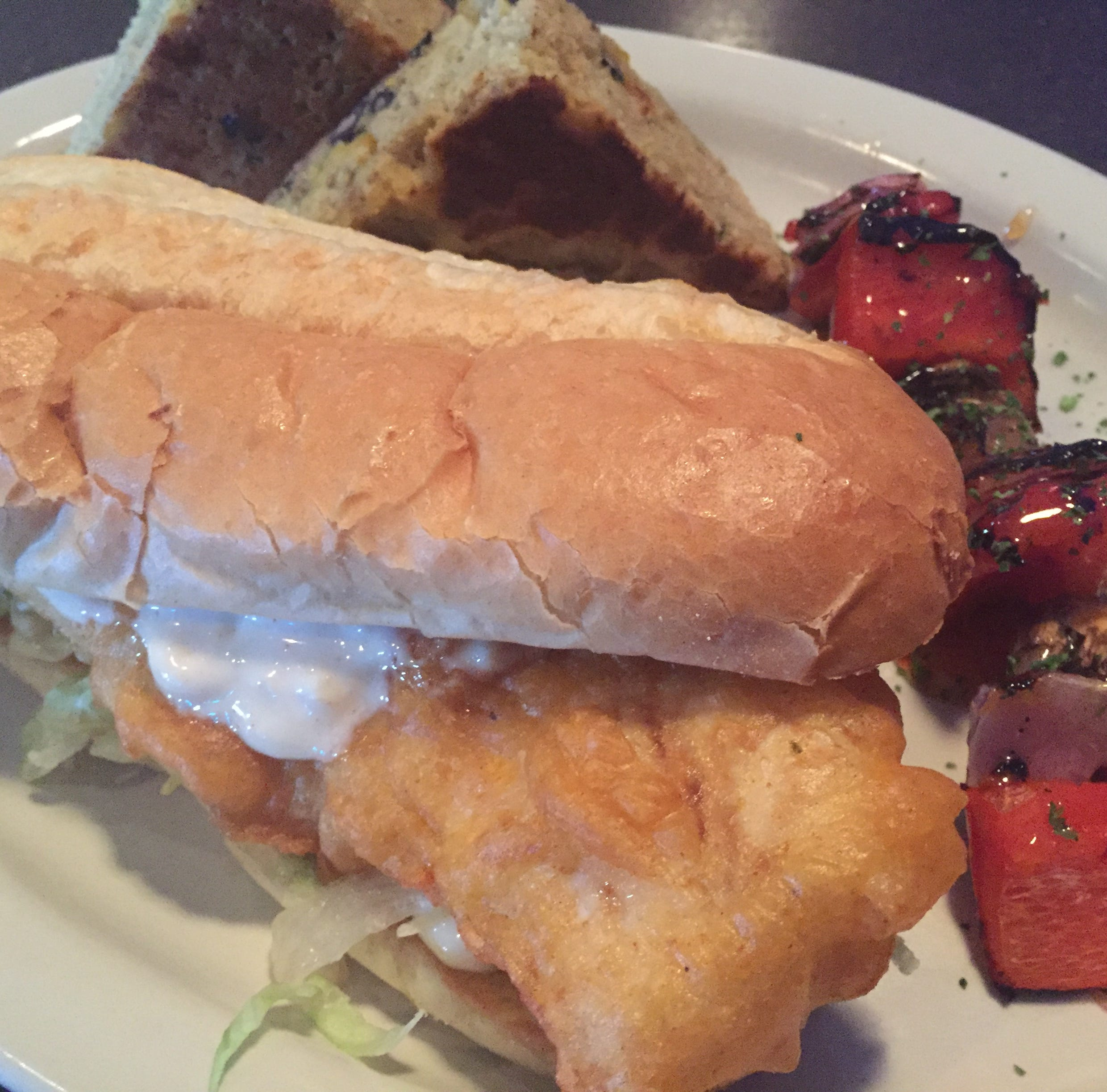 Fish sandwich of the week: Cod at Copper Blue