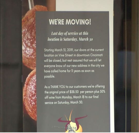 Boi Na Braza closing Vine Street location