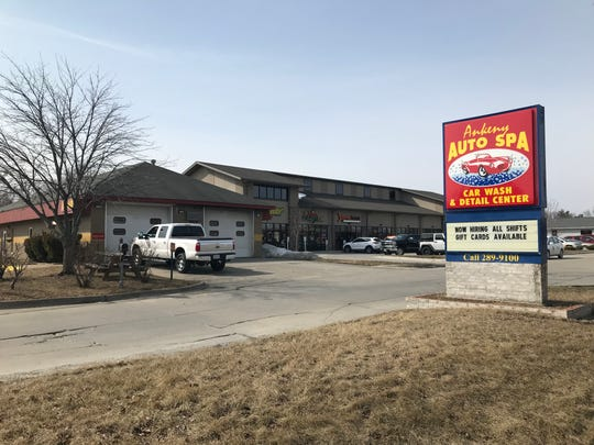 Ankeny Police Officers shot a burglary suspect early Tuesday morning, March 19, 2019,  at Ankeny Auto Spa, 909 E. First St.