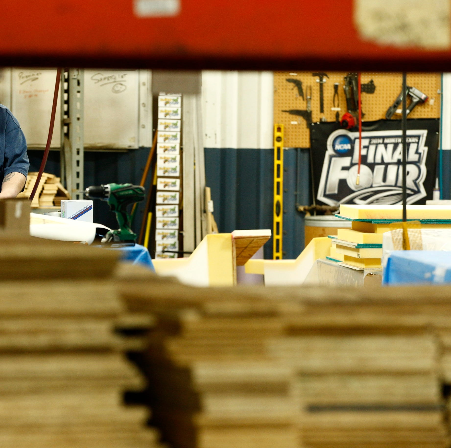 How one small-town Iowa factory is the engine behind March Madness