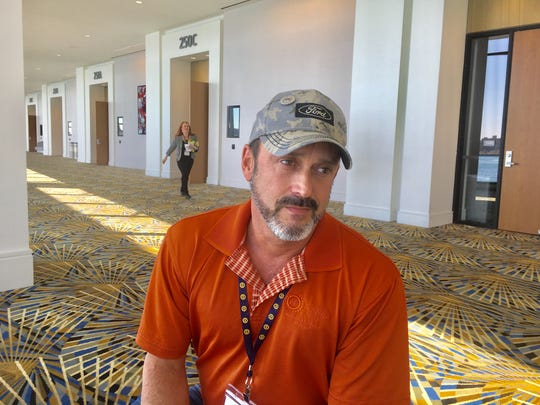 Todd Dunn, president of UAW Local 862 in Louisville, represents 20,000 active and retired union members. The Army combat veteran has expanded his efforts from focusing on military veterans to raising awareness and getting treatment for Opioid addiction in the workplace.