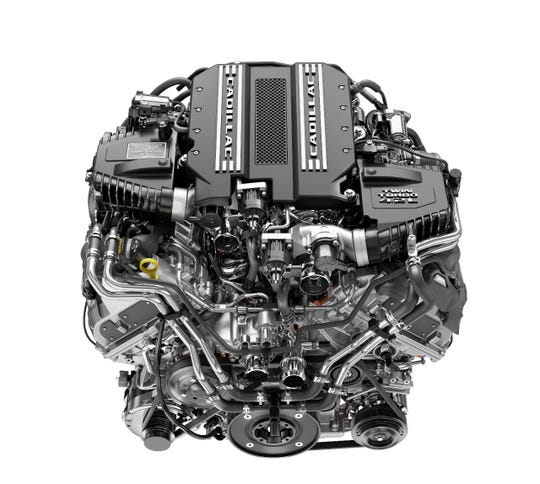 Cadillac CT6 V-Sport 4.2L Twin Turbo V-8
