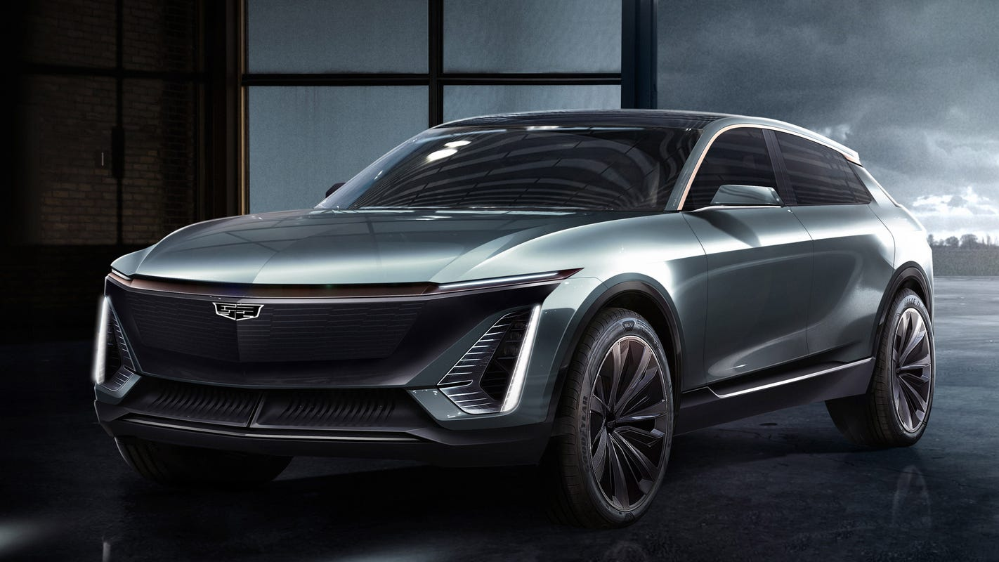 GM unveils 10 future EVs, new batteries and its plan to beat Tesla