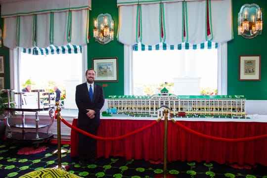 University of Michigan engineer David Lorch designed a 9-foot replica of the Mackinac Island Grand Hotel in 2016 for the hotel's 130th anniversary. Lorch developed a smaller version submitted to Lego Ideas website for a vote to potentially become the next kit.