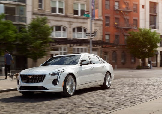 2019 Cadillac CT6 with the Blackwing engine.