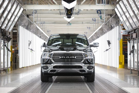 The Sterling Heights Assembly Plant produces the 2019 Ram 1500.