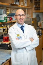 Dr. Stephen Goutman, who is an associate professor of neurology at the University of Michigan, also treats patients at the university's ALS Clinic.
