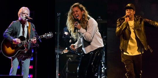 Bob Weir (Grateful Dead), Miley Cyrus and Jay-Z are three of the 75-plus acts scheduled for Woodstock 50 in August 2019 in Watkins Glen, N.Y.