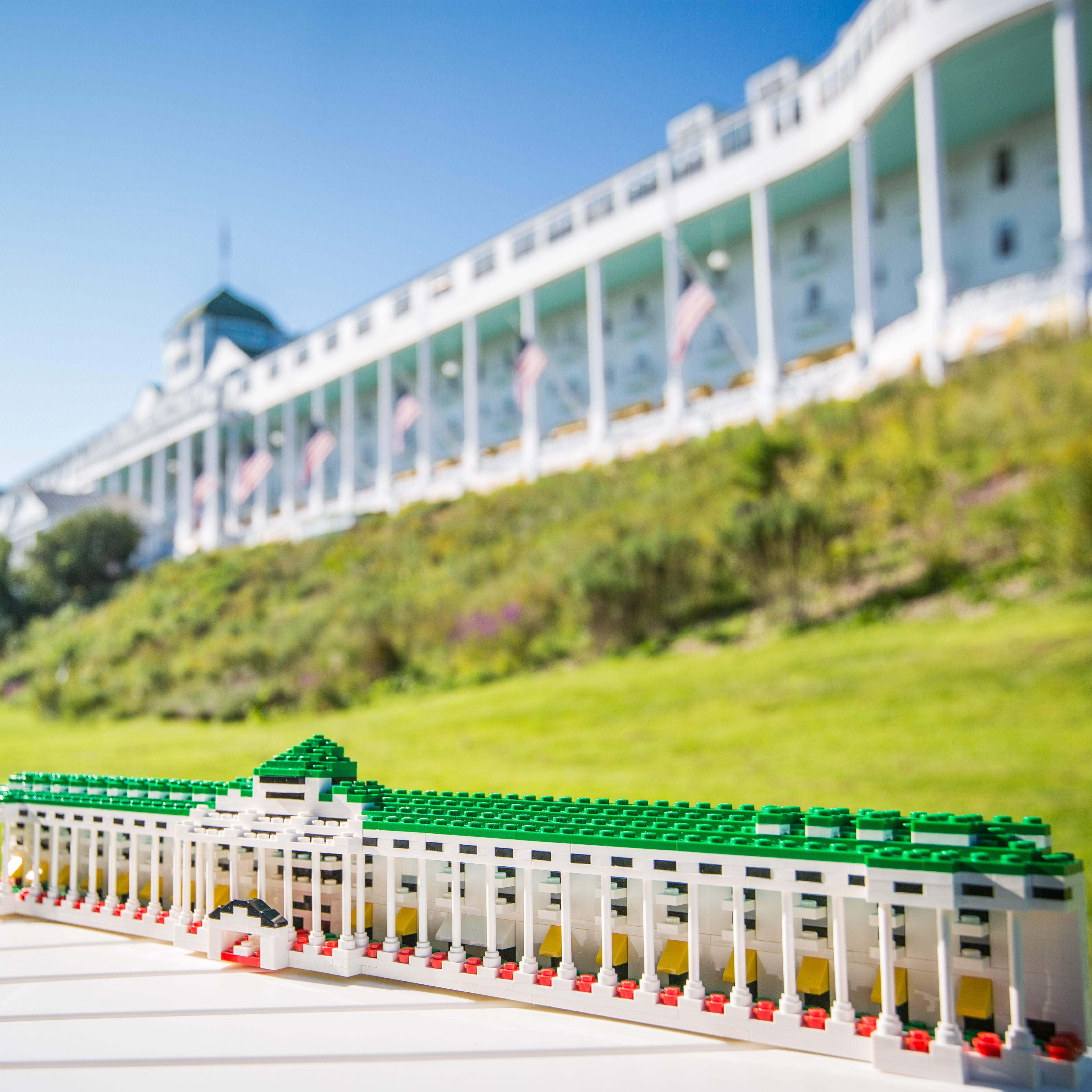 You can vote for Mackinac Island's Grand Hotel to become a Lego set