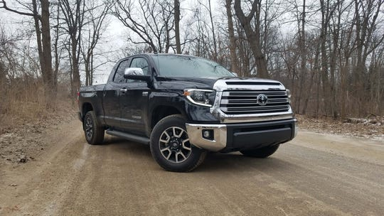 The 2019 Toyota Tundra is a great tool for Metro Detroit's rugged frontier roads.