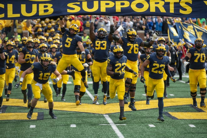 The Michigan football team will have two public practices next month at Michigan Stadium: April 6 and April 13.