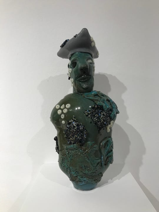"""Sunken Soldier"" by Bowling Green State University student Keegan O'Brien."