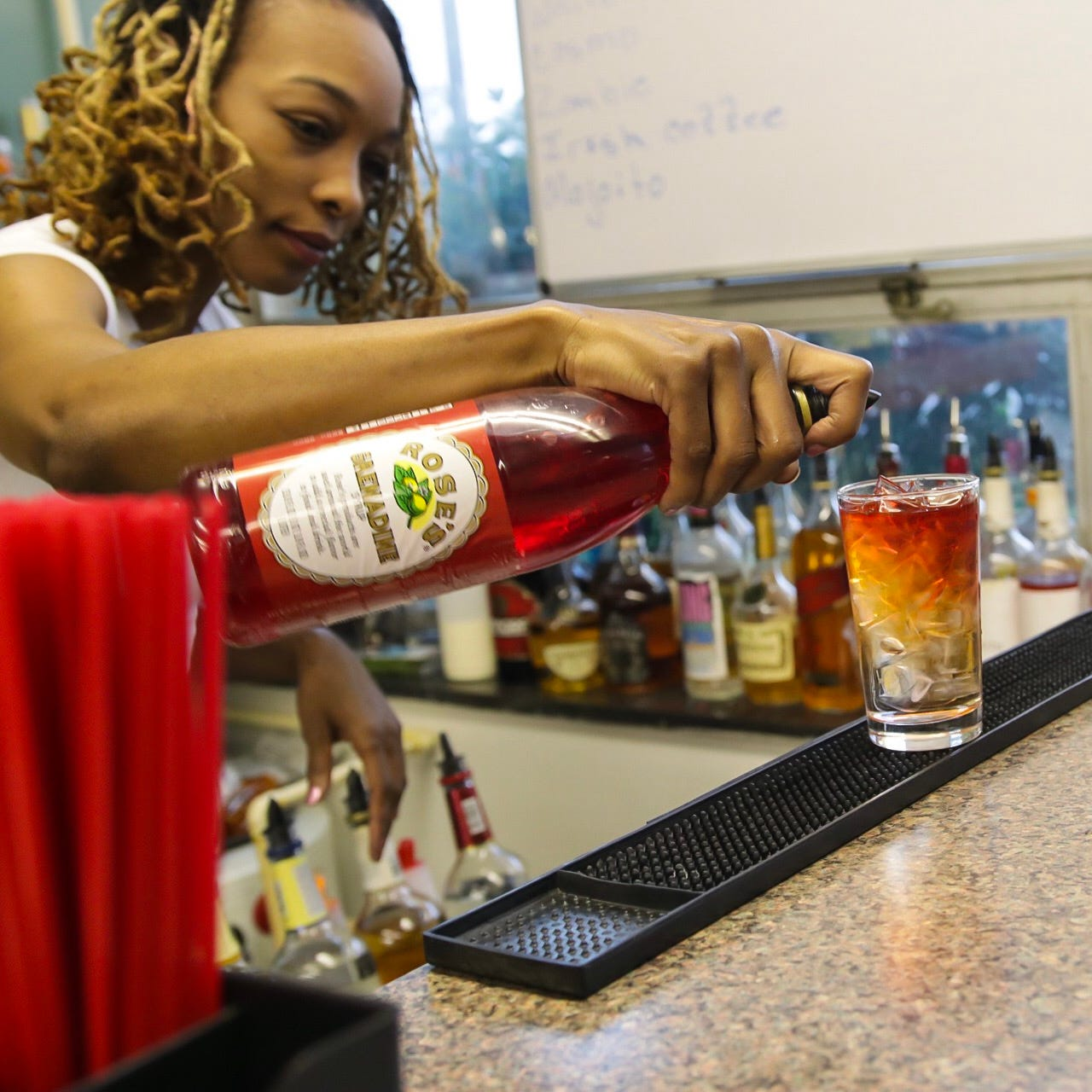 Detroit Mixologist owner Sheka Benson hosts bartending certification courses as well as Mixology 101 classes.