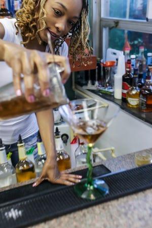 Detroit Mixologist owner Sheka Benson hosts bartending certification courses as well as Mixology 101 classes.