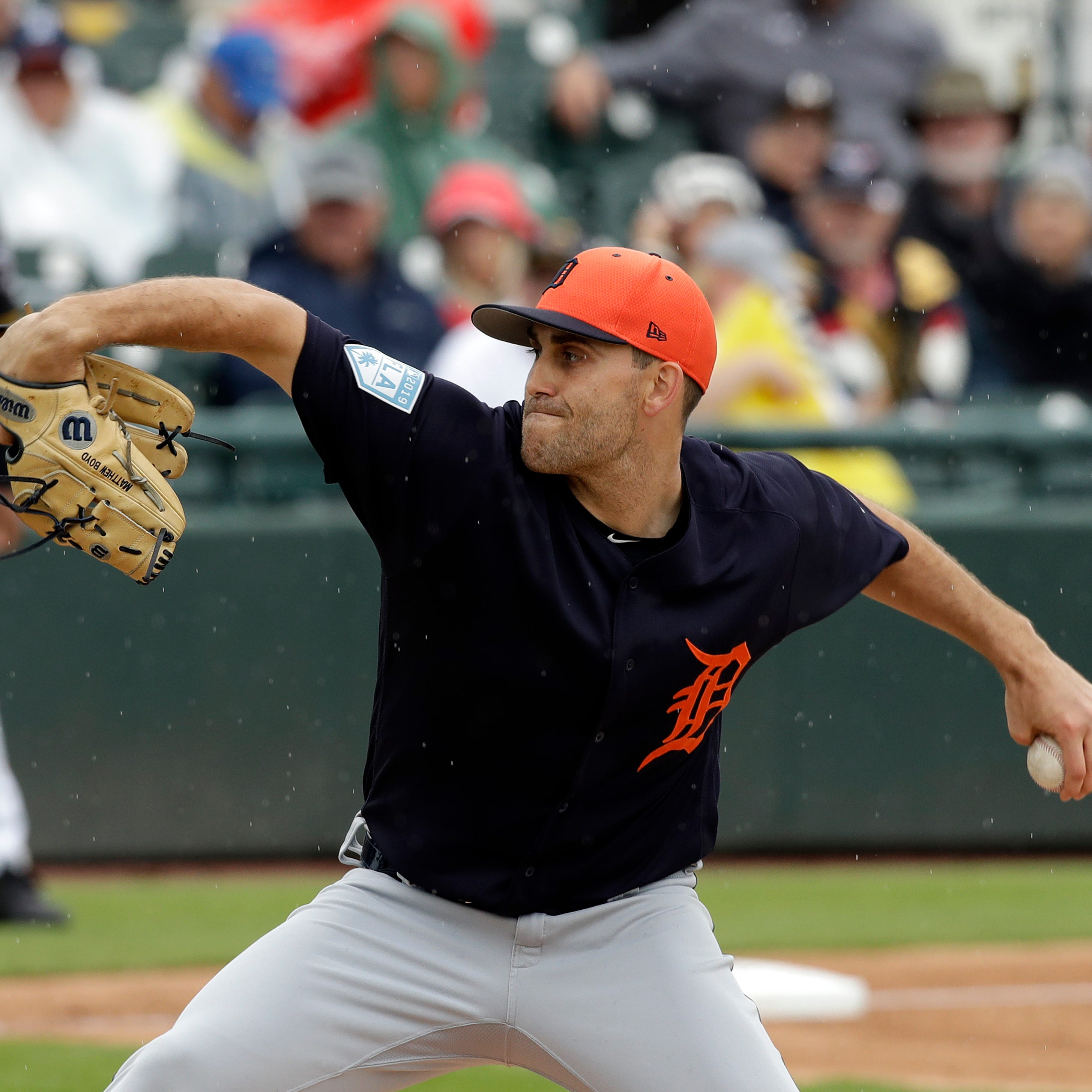 Matthew Boyd throws 92 pitches in likely final Grapefruit League start; Tigers cut 4