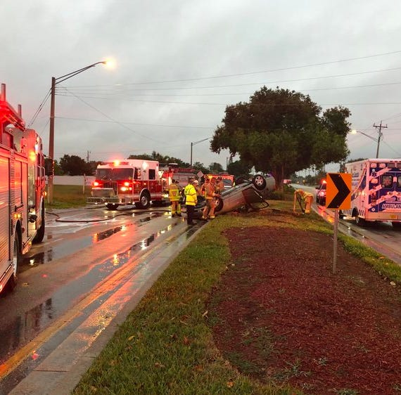 TRAFFIC ALERT: Rollover crash closes portion of Nicholas Parkway East in Cape Coral