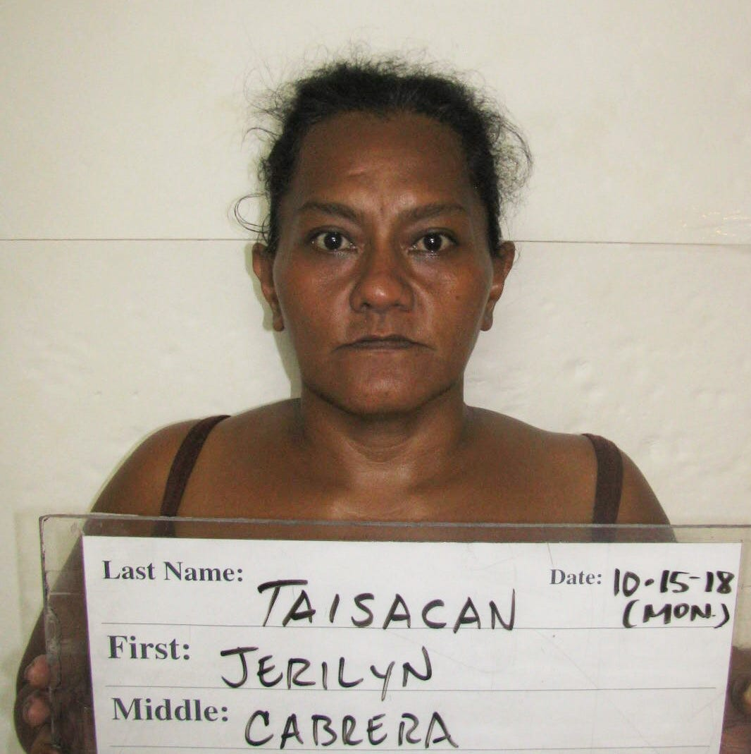 Jerilyn Taisacan allegedly stole documents, bush cutter and tools from client