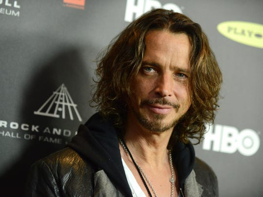 "Chris Cornell, pictured in 2013, issued his debut solo album, ""Euphoria Morning,"" in 1999."