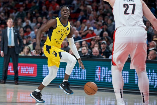 The Pacers Darren Collison is ready to return from a thigh injurye.