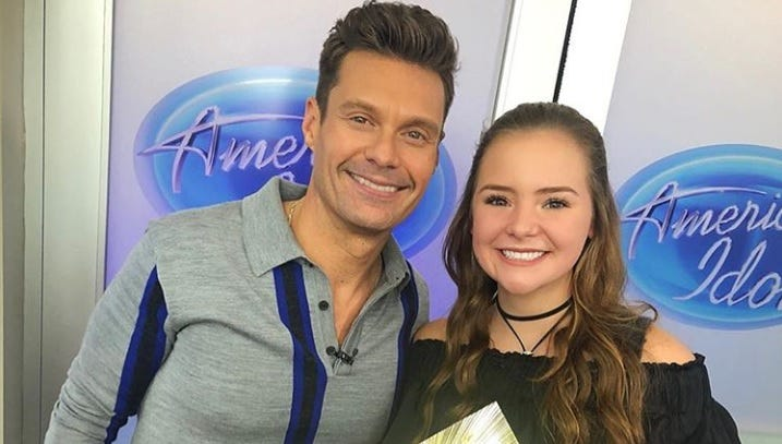 Iowa high school student headed to Hollywood after advancing on 'American Idol'