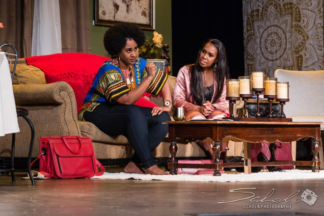 """""""Single Black Female,"""" a two-woman comedy on life and love, is coming to The Omni Center this weekend."""