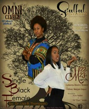 "Lisa B. Thompson's two-woman play ""Single Black Female"" will head to The Omni Center at 7 p.m. Friday and Saturday."
