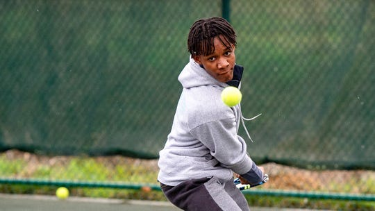 Saintil Darilus Anderson is a 14-year-old from Haiti who is working hard to achieve his dream of playing tennis in college.